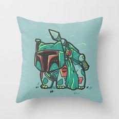 BulbaFett Throw Pillow
