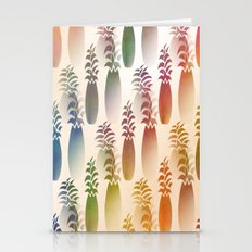 Pineapple Abstract Stationery Cards