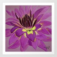 flower close up Art Print