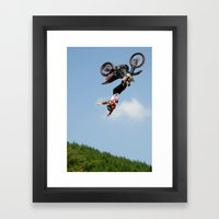 Eigo Sato Cliffhanger, FMX Japan Framed Art Print