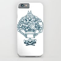 iPhone Cases featuring The Wolf Machine by Phung Nguyen Quang