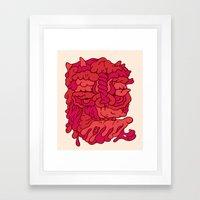 Head No.173 Framed Art Print