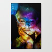 Universal Mind: Projection Series #8 Canvas Print
