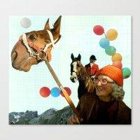 Balloon Animals Canvas Print