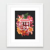 Tilds Framed Art Print