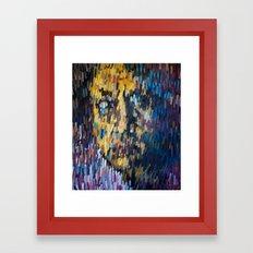 Scratched Framed Art Print