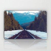 Train To Mountains Laptop & iPad Skin