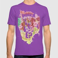 Ink Mens Fitted Tee Ultraviolet SMALL