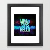 Alen Sarell Framed Art Print