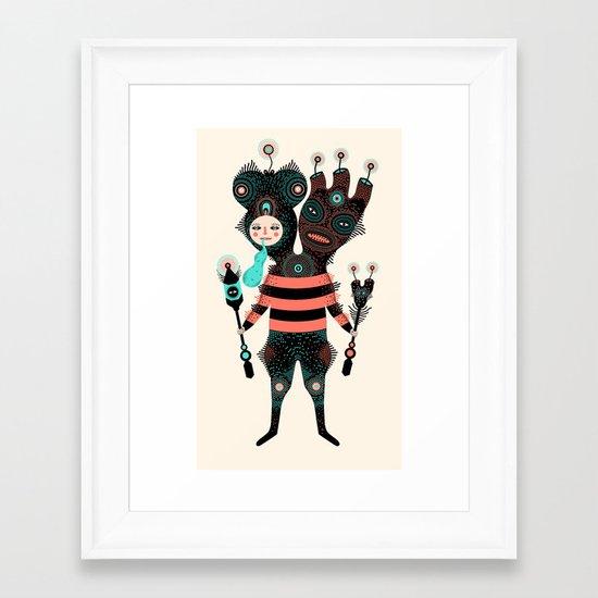 k r o x m o g o  Framed Art Print