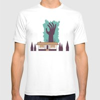The Cabin in the Woods Mens Fitted Tee White SMALL
