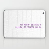 Don't Let Small Minds Co… Laptop & iPad Skin