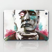 Marlon Brando under brushes effects iPad Case