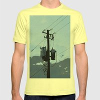 Transformer Mens Fitted Tee Lemon SMALL