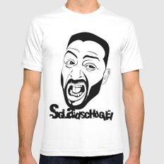 Sgladschdglei Mens Fitted Tee White SMALL