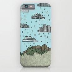 Rain Clouds Slim Case iPhone 6s