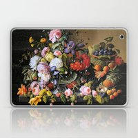 Vintage Varnish- Flowers… Laptop & iPad Skin