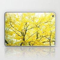 Yellow Splendor Laptop & iPad Skin