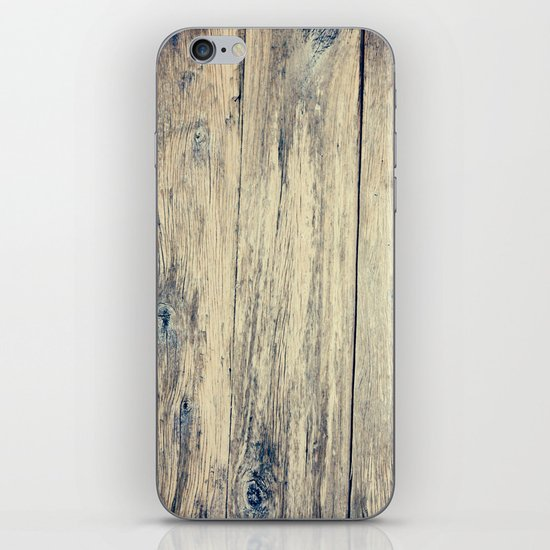 Wood Photography II iPhone & iPod Skin