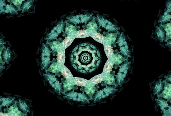 Kaleidoscope 'K2 SN' Art Print