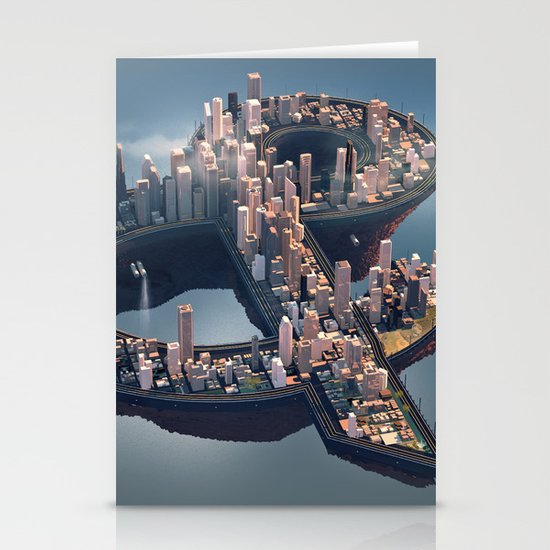 The City Stationery Card