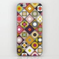 parava diagonal iPhone & iPod Skin