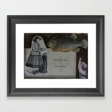 ATHENES Framed Art Print