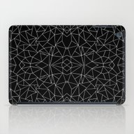 Abstract Collide Outline… iPad Case