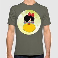 Snow white Mens Fitted Tee Lieutenant SMALL
