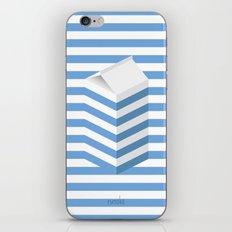 SPLIT MILK iPhone & iPod Skin
