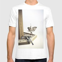 Tom Feiler Sparrows Mens Fitted Tee White SMALL
