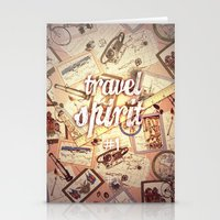 Travel Spirit Stationery Cards