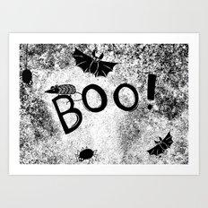 BOO!!! Art Print