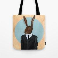 David Lynch | Rabbit Tote Bag