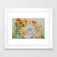 Fatted Calf Framed Art Print