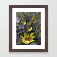 Sun flower  Framed Art Print