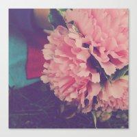 fresh pink Canvas Print