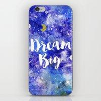 Dream Big iPhone & iPod Skin