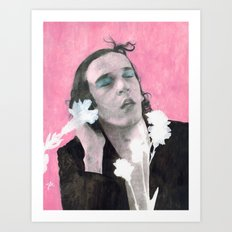 //LOVE ME// Art Print