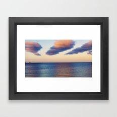 Approaching Clouds Framed Art Print