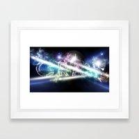 CrAsH In The Universe Framed Art Print