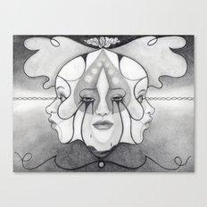 Perception Conception Expression Canvas Print