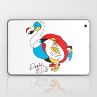 Doodle Bird Laptop & iPad Skin