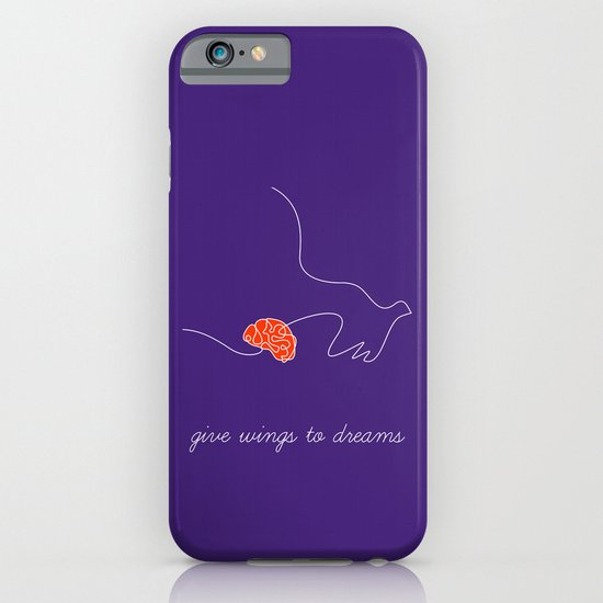 give wings to dreams iPhone & iPod Case