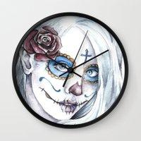 La Bella Muerte  Wall Clock