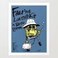 Fear And Loathing In Bik… Art Print