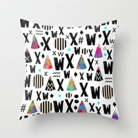 X.1975 Throw Pillow