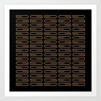 G Pattern Duece Art Print