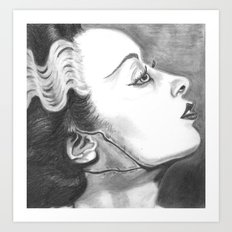 Bride Squared Art Print