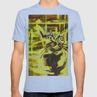 Alley Cat Mens Fitted Tee Athletic Blue SMALL